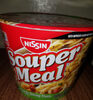 Nissin, souper meal, ramen noodle soup, picante shrimp - Produit