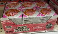 Cup noodles with shrimp - Produit - en