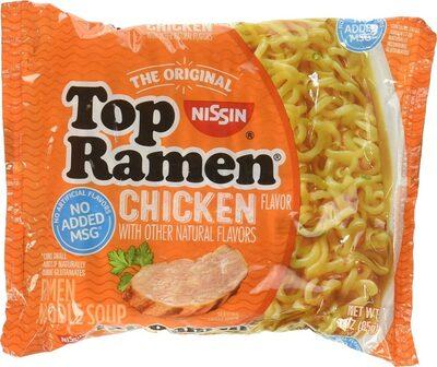 Top ramen noodle soup chicken flavor ounce packages - Product - en