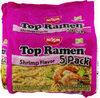Nissin noodles shrimp flavor - Product