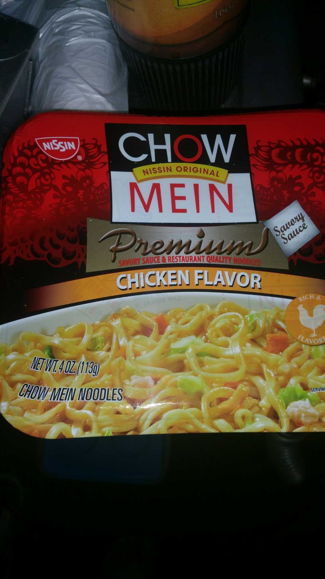 Chow mein chicken flavor - Product