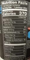 Korean bbq flavor stir fry style asian noodles in sauce, korean bbq - Nutrition facts - en