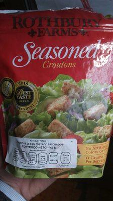 Seasoned croutons - Product