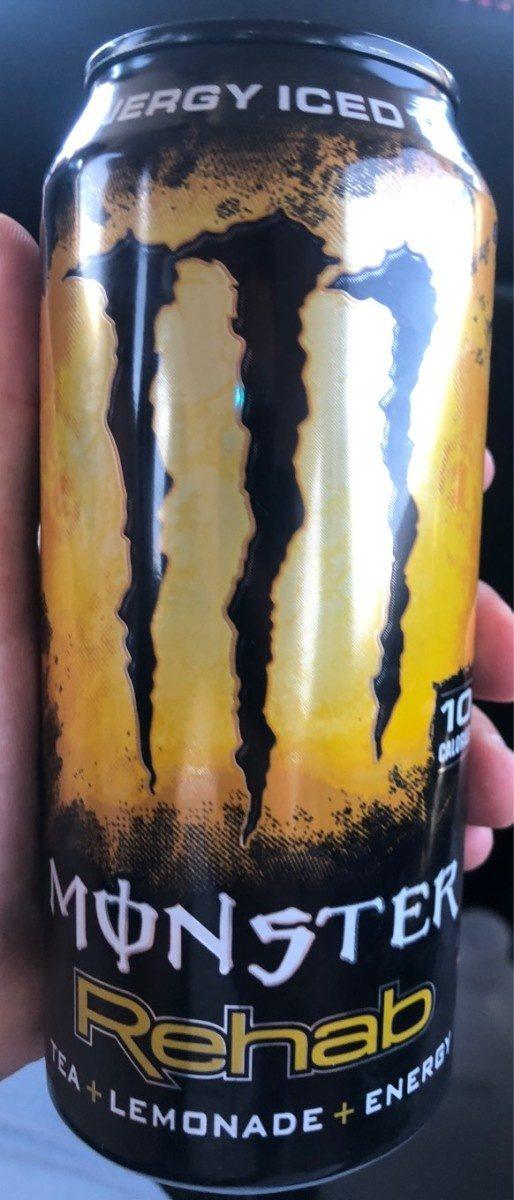 Rehab iced tea energy drink, lemonade - Product - en