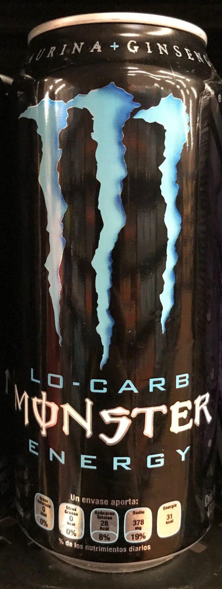 Monster Energy Lo-carb - Produit