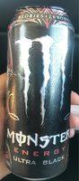 Energy drink, ultra black - Product - en