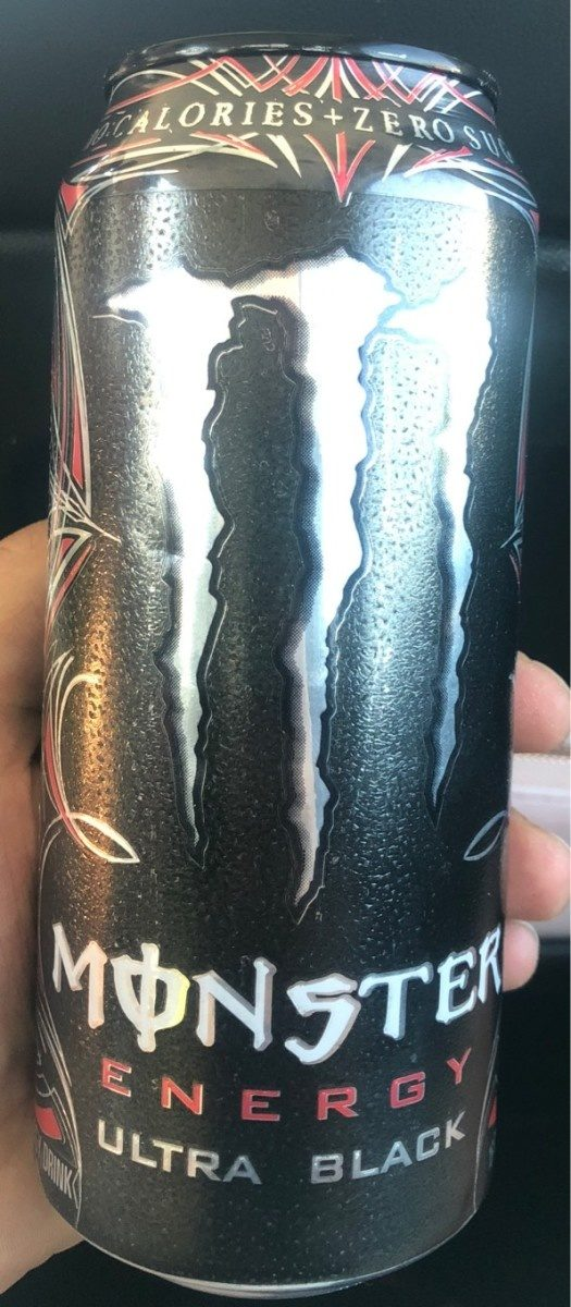 Monster ultra black - Product