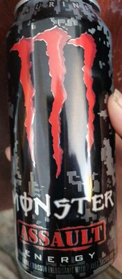 Monster Assault energy drink - Product - en