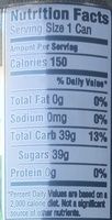 Key Lime Twist Natural Cane Soda - Nutrition facts - en