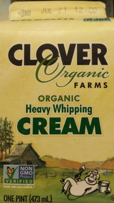 Organic Heavy Whipping Cream - Product