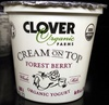 Cream on Top Forest Berry Organic Yogurt - Product