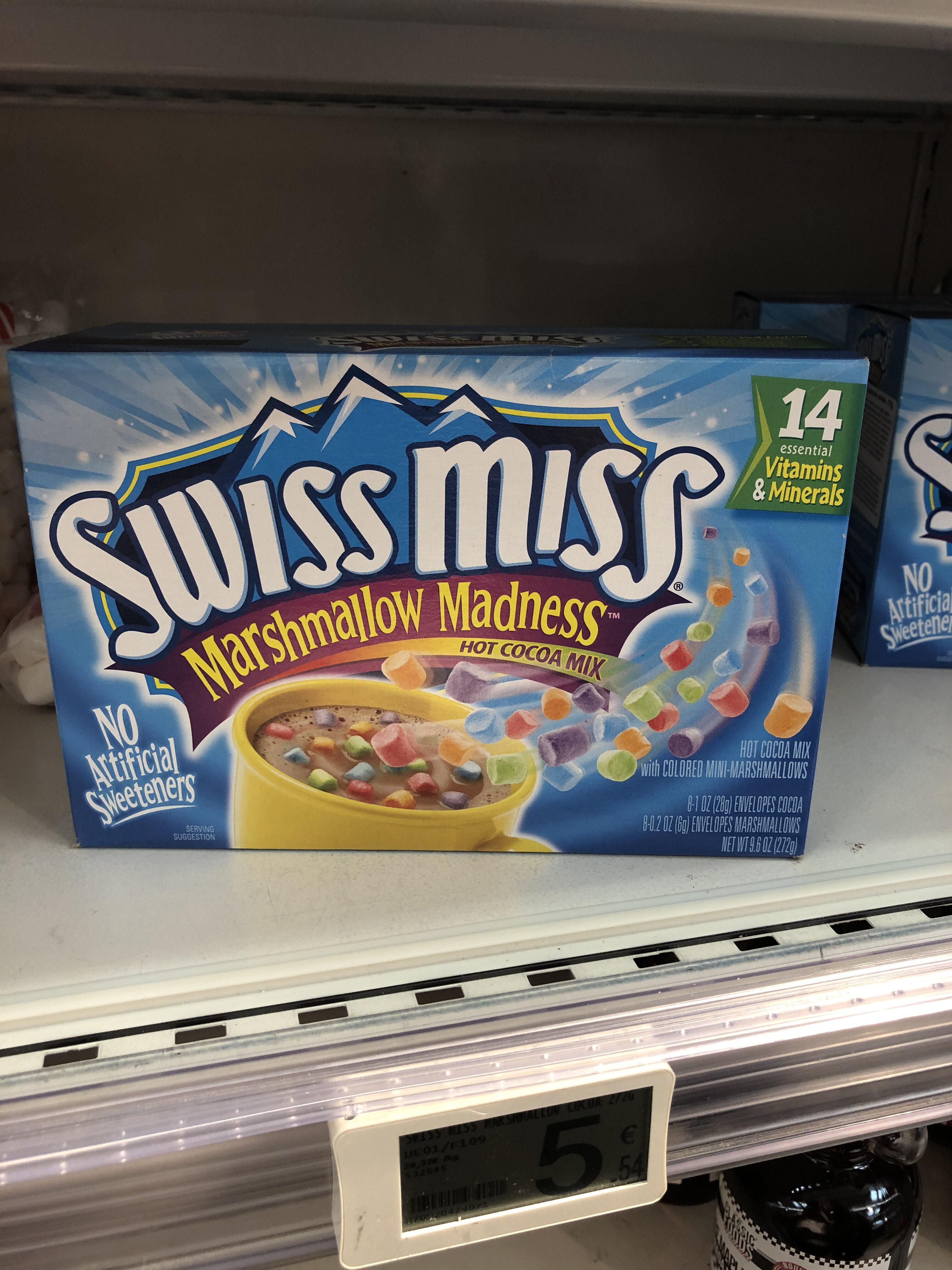 Swiss Miss Marshmallow Madness - Produit - fr
