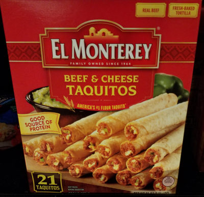 Beef & cheese taquitos - Product