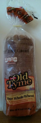 100% whole wheat bread - Product - en