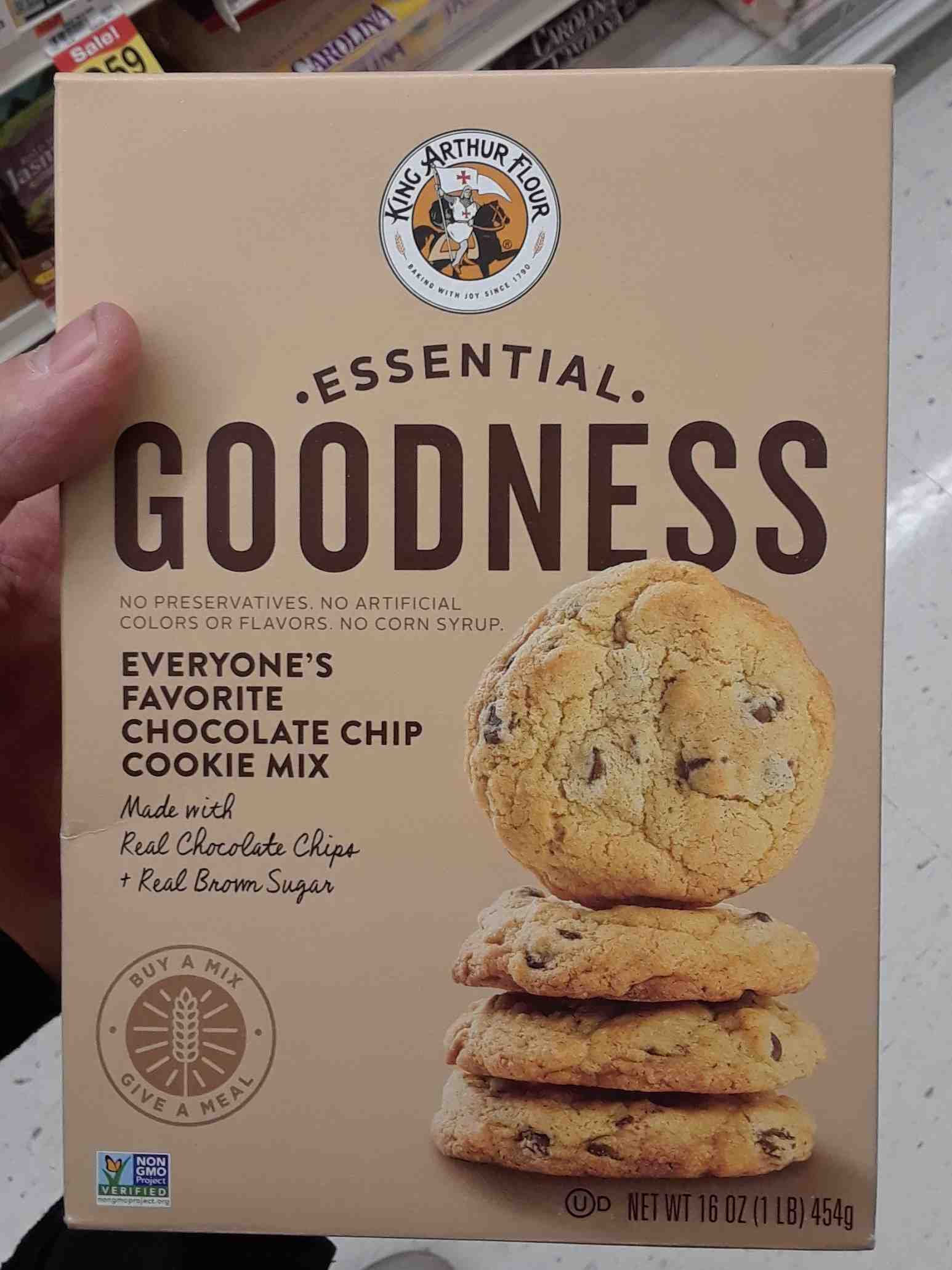 Chocolate chip cookie mix - Product - en