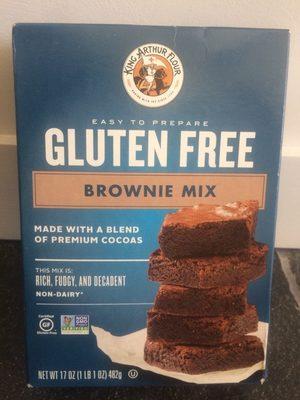 Gluten free brownie mix - Product - en