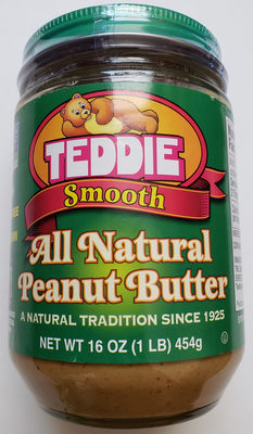 Teddie, Smooth Old Fashioned All Natural Peanut Butter - Producto - en