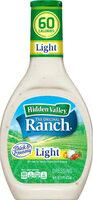 Original ranch light salad dressing & topping - Product - en