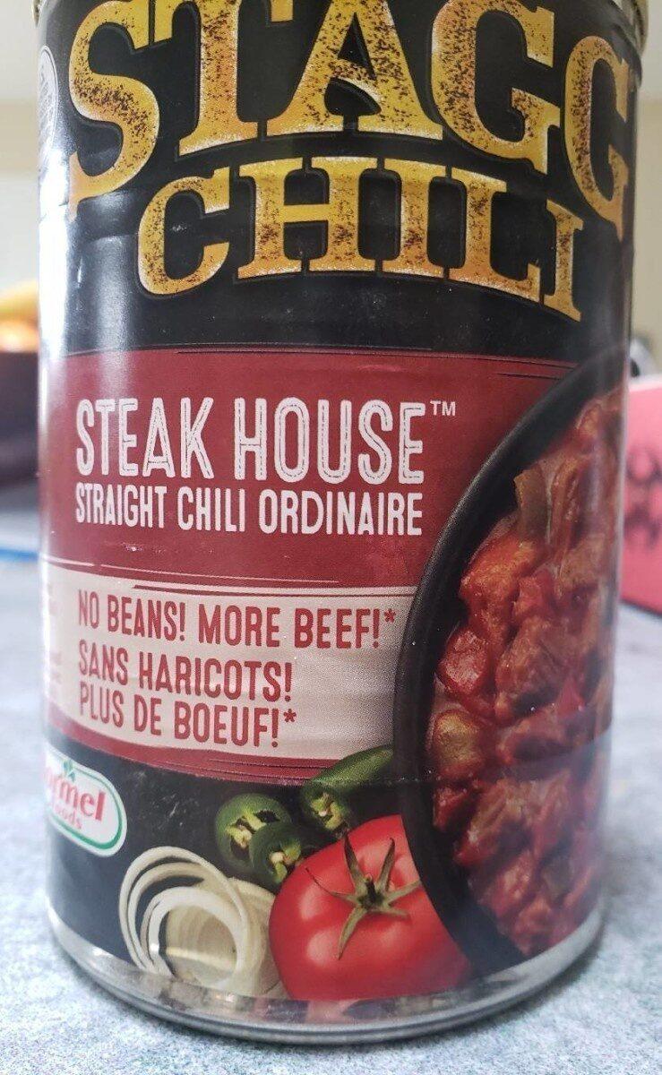 Stagg steak house chili - Produit - en