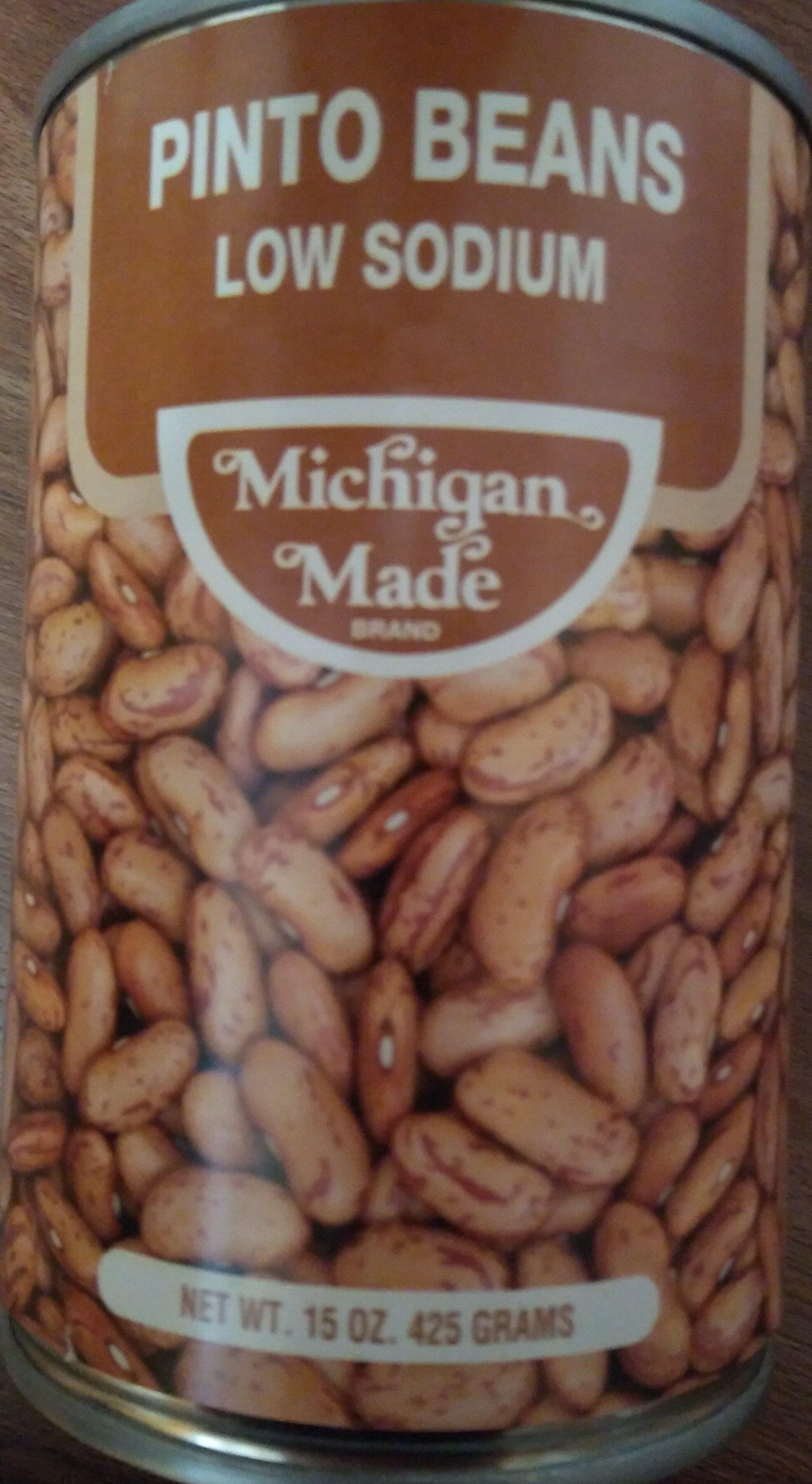 Pinto Beans - Low Sodium - Product - en