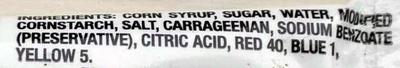 Black Decorating Gel - Ingredients - en