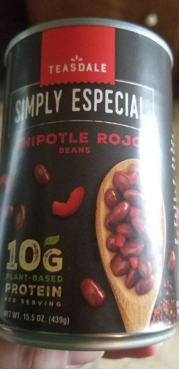 Teasdale simply especial chipotle rojo beans - Produit - en