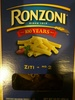 Ronzoni, enriched macaroni product, ziti no. 2 - Produit
