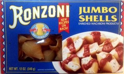 Jumbo shells - Product