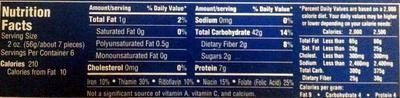 Jumbo shells - Voedingswaarden