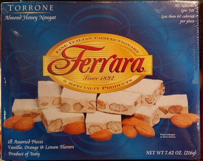 Ferrara Torrone Almond Honey Nougat - Product