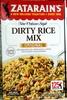 Dirty long grain white rice, onions, and bell peppers, with authentic cajun seasonings dinner mix, dirty rice - Product