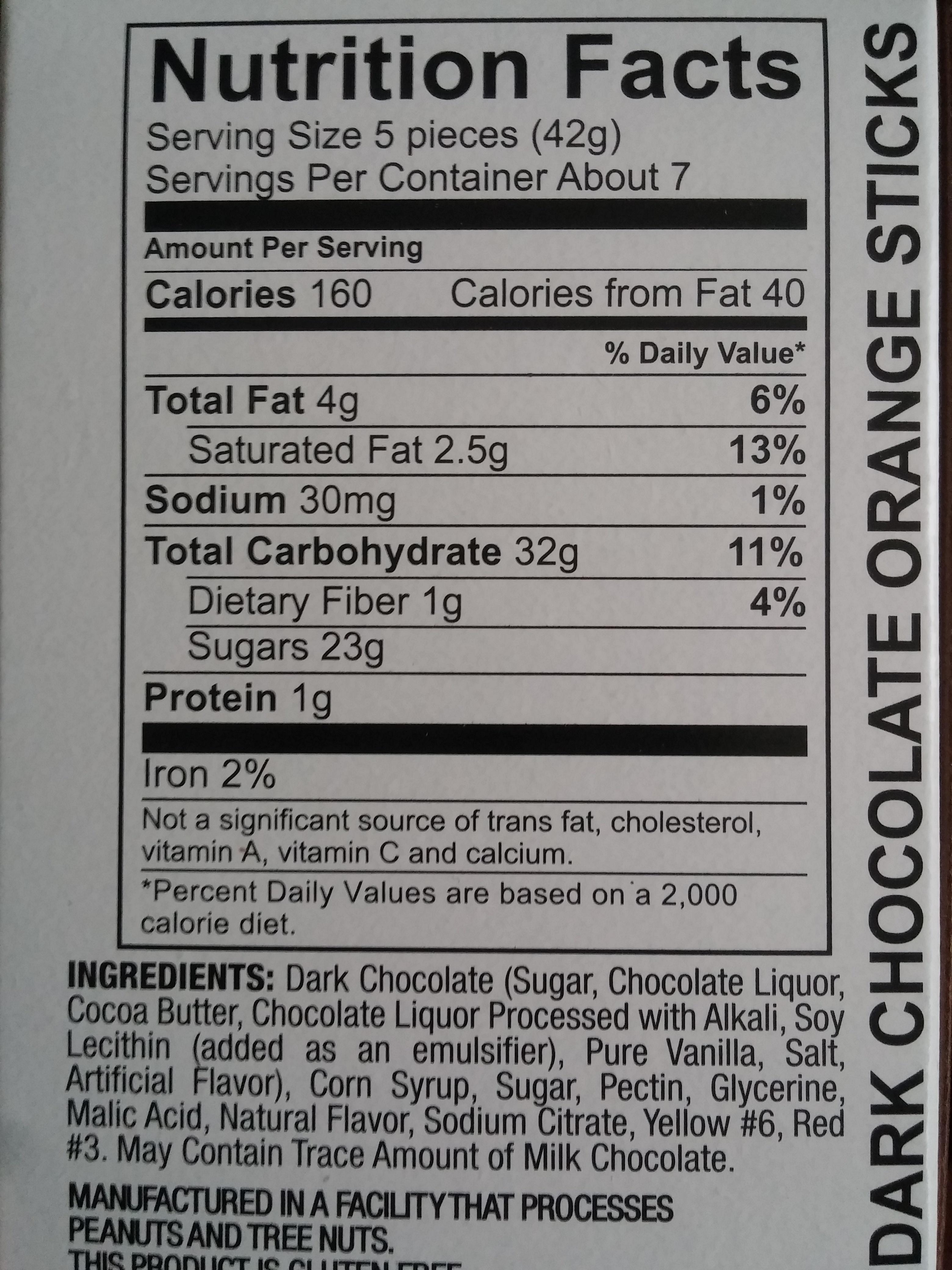 Dark chocolate - Product - en