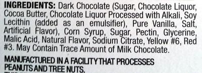 Dark chocolate - Ingredients - en