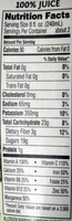 Bolthouse farms, fruit & vegetable juice, daily greens, daily greens - Informations nutritionnelles - en
