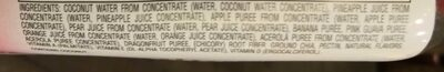 Bolthouse farms, fruit juice smoothie + boosts with finely ground chia, tropical goodness, tropical goodness - Ingredients - en