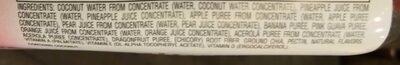Tropical Goodnes Smoothie - Ingredients