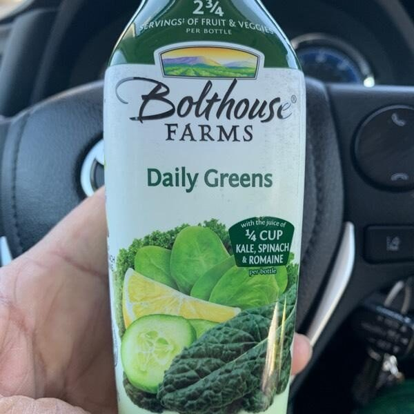 Bolthouse farms, fruit & vegetable juice, daily greens, daily greens - Product - en