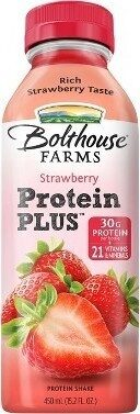 Protein plus strawberry - Product - en