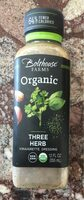 Three Herb Vinaigrette Dressing - Product - en