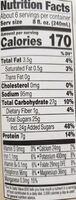 Perfectly protein heart healthy tea & soy beverage - Nutrition facts - en