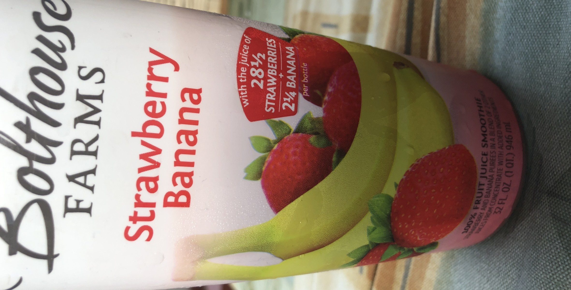 Strawberry banana - Ingredients - fr
