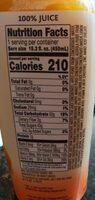 100% fruit juice smoothie + boosts, c-boost - Ingredients - en