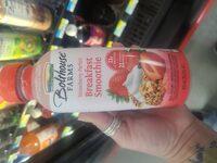 Breakfast smoothie, strawberry parfait - Product - en