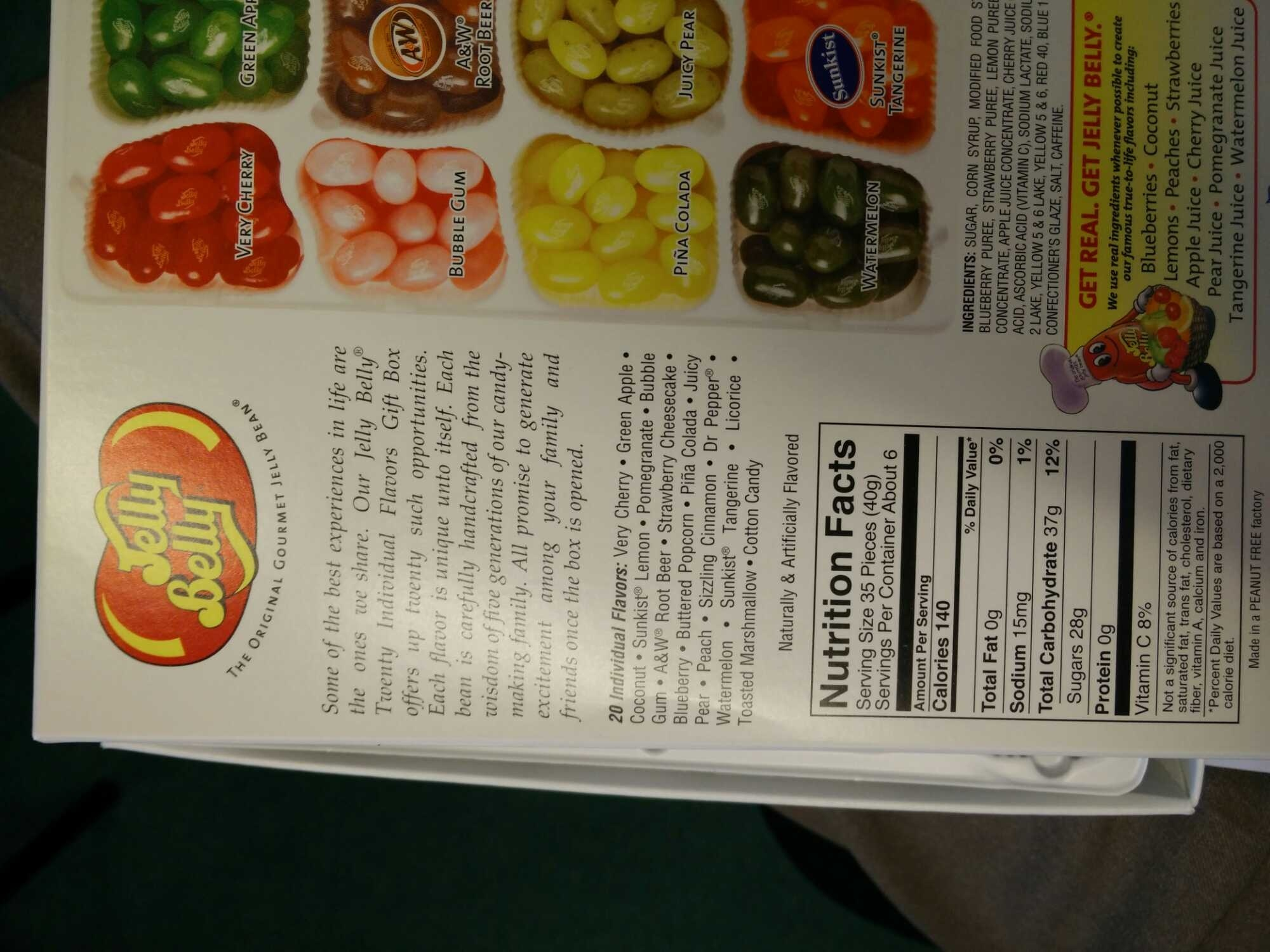 Jelly beans - Product