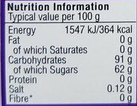 Bean boozled jelly beans - Voedingswaarden