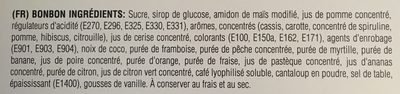 Jelly Belly Adventskalender - Ingrédients - fr
