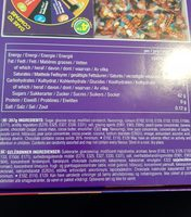 Jelly Belly Bean Boozled Gift Box 357G Jelly Beans - 成分 - en