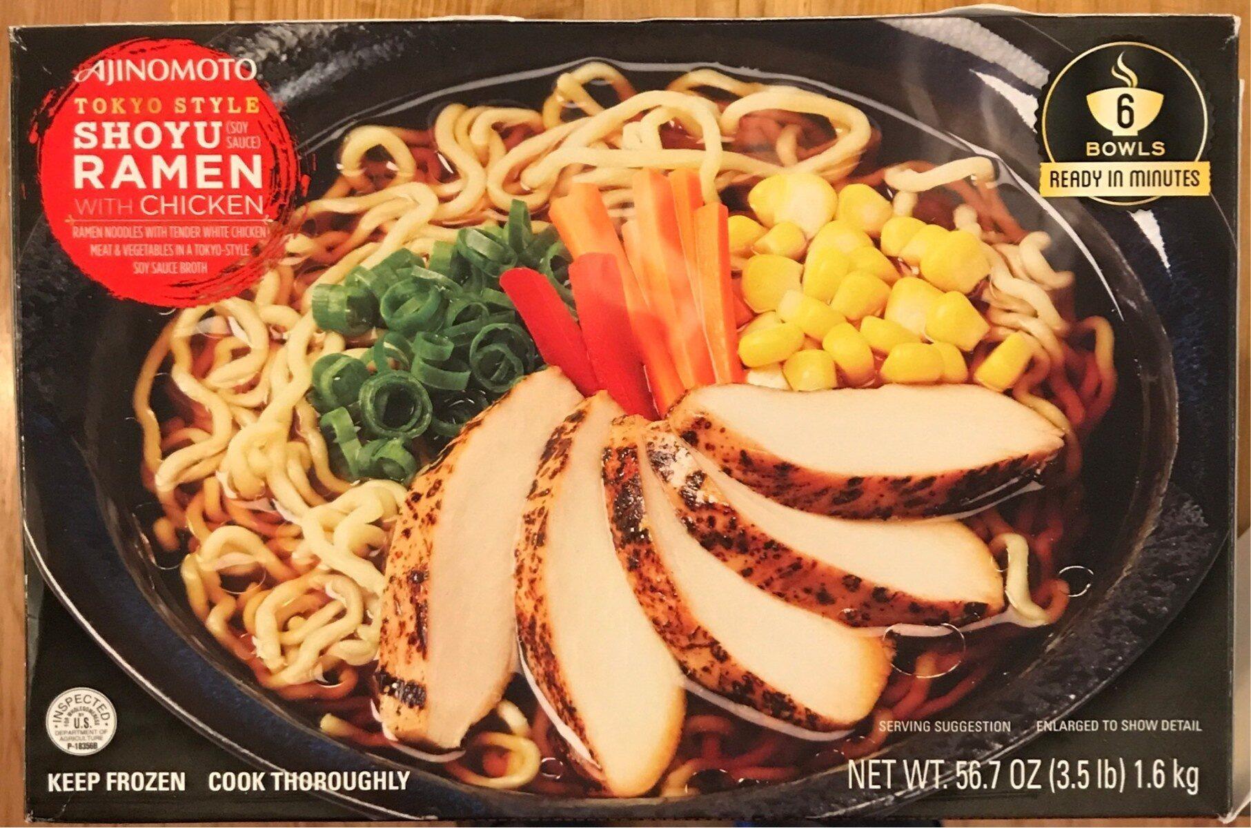 Shoyu ramen with Chicken - Product - en