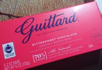 Bittersweet chocolate - Product