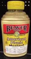 Mostaza American Picnic  Beaver Brand - Producto - es